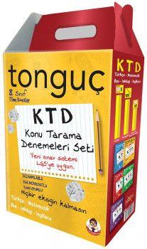 Tonguç Akademi 8. Sınıf Tüm Dersler Konu Tarama Denemeleri Seti