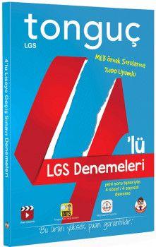 Tonguç Akademi 8. Sınıf LGS 4 lü Deneme Seti