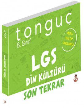 Tonguç Akademi 8. Sınıf LGS Din Kültürü ve Ahlak Bilgisi Son Tekrar