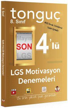 Tonguç Akademi 8. Sınıf LGS Motivasyon Son 4 lü Deneme