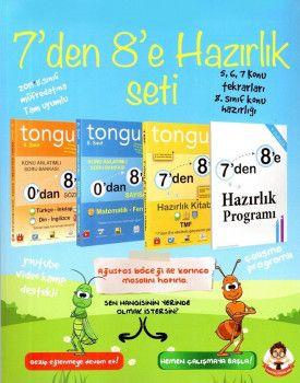 Tonguç Akademi 8. Sınıf 7 den 8 e Hazırlık Seti