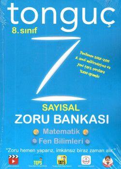 Tonguç Akademi 8. Sınıf Sayısal Zoru Bankası