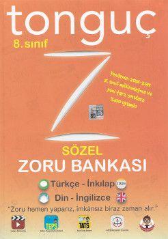 Tonguç Akademi 8. Sınıf Sözel Zoru Bankası