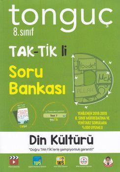 Tonguç Akademi 8. Sınıf Din Kültürü ve Ahlak Bilgisi TAK TİK li Soru Bankası