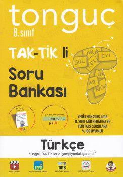 Tonguç Akademi 8. Sınıf Türkçe TAK TİK li Soru