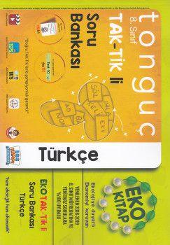 Tonguç Akademi 8. Sınıf TAK TİK li Türkçe Soru Bankası Eko Kitap