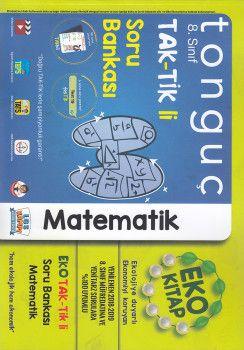 Tonguç Akademi 8. Sınıf TAK TİK li Matematik Soru Bankası Eko Kitap