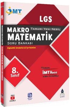Tonguç Akademi 8. Sınıf LGS Makro Matematik Tamamı Yeni Nesil İMT Soru Bankası