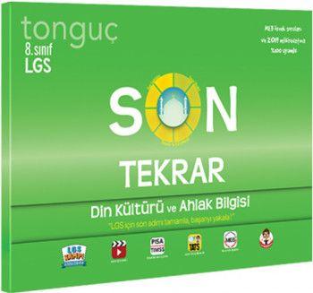 Tonguç Akademi 8. Sınıf LGS Son Tekrar Din Kültürü ve Ahlak Bilgisi