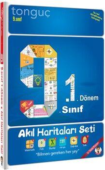 Tonguç Akademi 9. Sınıf 1. Dönem Akıl Haritaları Seti