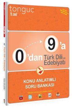 Tonguç Akademi 9. Sınıf 0 dan 9 a Türk Dili ve Edebiyatı Konu Anlatımlı Soru Bankası