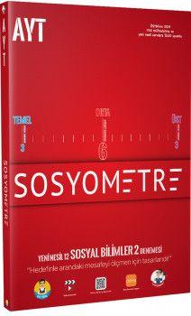 Tonguç Akademi AYT Sosyometre 12 li Deneme