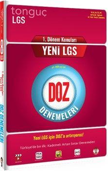 Tonguç Akademi LGS 1. Dönem DOZ Denemeleri