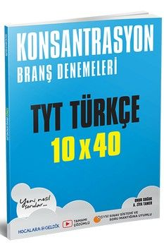 Tonguç Akademi TYT Türkçe Konsantrasyon Branş Denemeleri