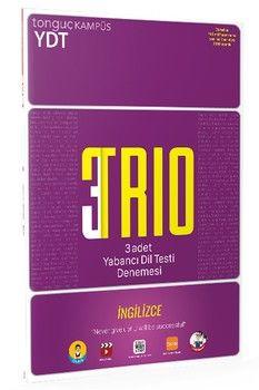 Tonguç Akademi YDT İngilizce 3 lü TRIO Denemeleri