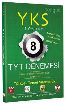 Tonguç Akademi YKS 1. Oturum TYT Türkçe Temel matematik 8 Denemesi