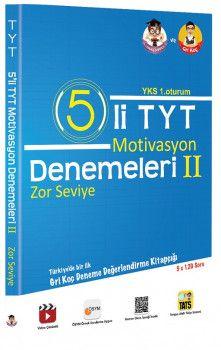 Tonguç Akademi YKS 1. Oturum TYT Motivasyon 5 Denemeleri 2 Zor Seviye