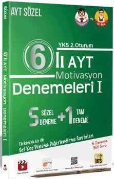 Tonguç Akademi YKS 2. Oturum AYT Motivasyon Sözel 6 lı Denemeleri 1