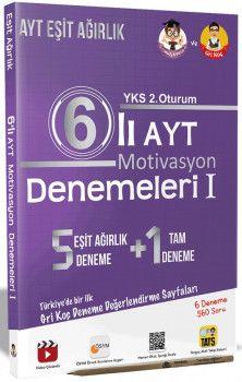 Tonguç Akademi YKS 2. Oturum AYT Motivasyon Eşit Ağırlık 6 lı Denemeleri 1