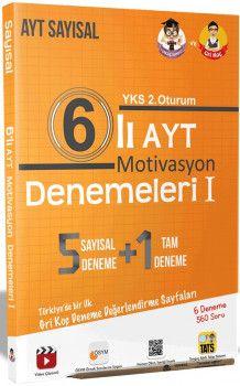 Tonguç Akademi YKS 2. Oturum AYT Motivasyon Sayısal 6 lı Denemeleri 1
