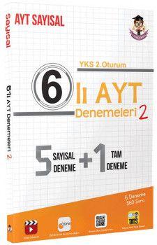 Tonguç Akademi YKS 2. Oturum AYT Sayısal 6 lı Deneme 2