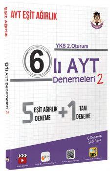 Tonguç Akademi YKS 2. Oturum AYT Eşit Ağırlık 6 lı Deneme 2