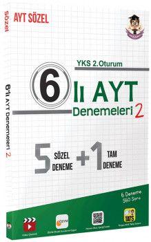 Tonguç Akademi YKS 2. Oturum AYT Sözel 6 lı Deneme 2