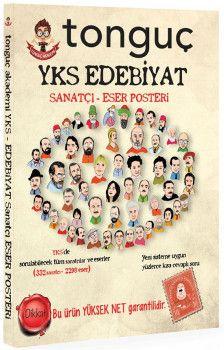 Tonguç Akademi YKS Edebiyat Sanatçı Eser Posteri