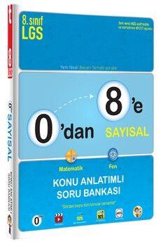 Tonguç Akademi0 dan 8 e Sayısal Konu Anlatımlı Soru Bankası