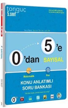 Tonguç Akademi0 dan 5 e Sayısal Konu Anlatımlı Soru Bankası