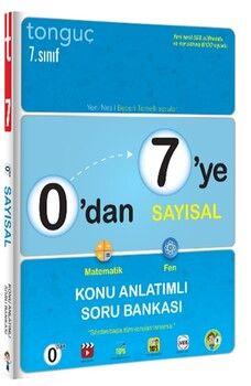 Tonguç Akademi0 dan 7 ye Sayısal Konu Anlatımlı Soru Bankası