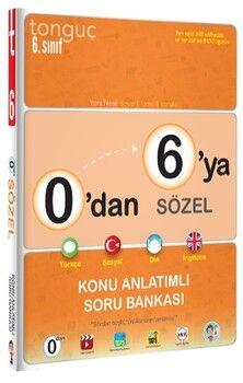 Tonguç Akademi0 dan 6 ya Sözel Konu Anlatımlı Soru Bankası