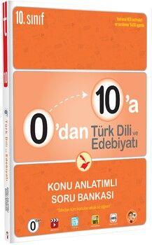 Tonguç Akademi0 dan 10 a Türk Dili ve Edebiyatı Konu Anlatımlı Soru Bankası