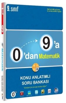 Tonguç Akademi0 dan 9 a Matematik Konu Anlatımlı Soru Bankası