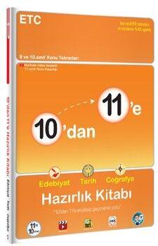 Tonguç Akademi10 dan 11 e Edebiyat Tarih Coğrafya Hazırlık Kitabı