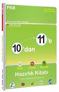 Tonguç Akademi10 dan 11 e Fizik Kimya Biyoloji Hazırlık Kitabı