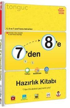 Tonguç Akademi7 den 8 e Hazırlık Kitabı