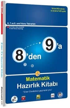 Tonguç Akademi8 den 9 a Matematik Hazırlık Kitabı