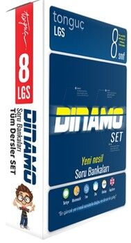 Tonguç Akademi8. Sınıf Dinamo Tüm Dersler Soru Bankası Set