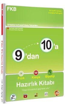 Tonguç Akademi9 dan 10 a Fizik Kimya Biyoloji Hazırlık Kitabı