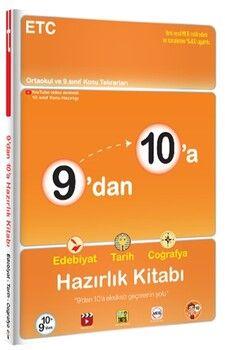 Tonguç Akademi9 dan 10 a Edebiyat Tarih Coğrafya Hazırlık Kitabı