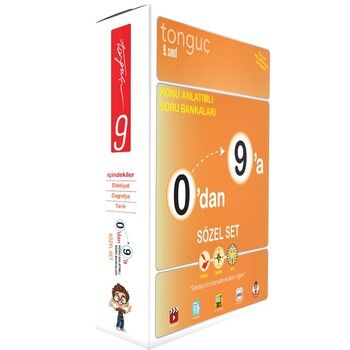 Tonguç Yayınları 9. Sınıf Sözel Set 0 dan 9 a Konu Anlatımlı Soru Bankası