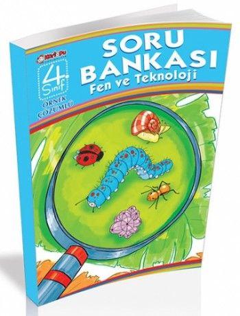 Top Yayınları Fen ve Teknoloji  4. Sınıf  Örnek Çözümlü Soru Bankası