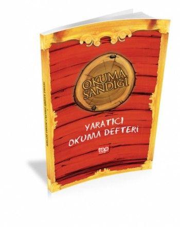 Top Yayınları Kırmızı Okuma Sandığı Yaratıcı Okuma Defteri