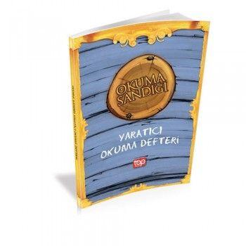 Top Yayınları Mavi Okuma Sandığı Yaratıcı Okuma Defteri