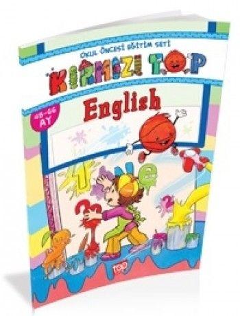 Top Yayınları Okul Öncesi Kırmızı Top İngilizce
