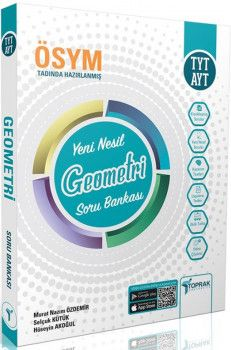 Toprak Yayıncılık TYT AYT Geometri Yeni Nesil Soru Bankası