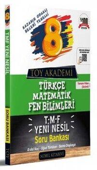 Toy Akademi 8. Sınıf LGS TMF Yeni Nesil Soru Bankası