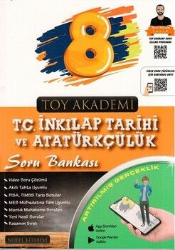 Toy Akademi Yayınları 8. Sınıf T. C. İnkılap Tarihi ve Atatürkçülük Soru Bankası