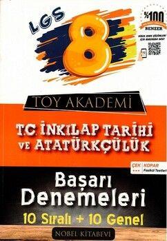 Toy Akademi Yayınları 8. Sınıf LGS T. C. İnkılap Tarihi ve Atatürkçülük Başarı Denemeleri